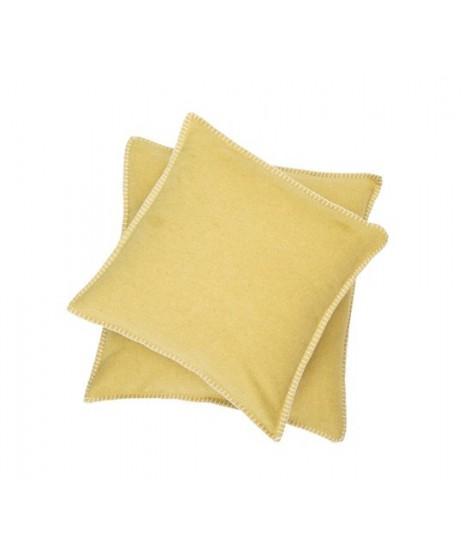 Cotton cushion SYLT mustard
