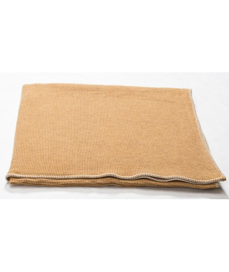 Cotton blanket  LIDO gold