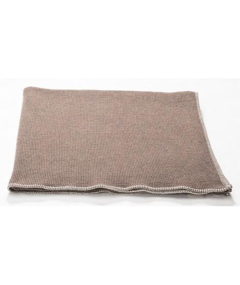 Bavlněná deka LIDO brown