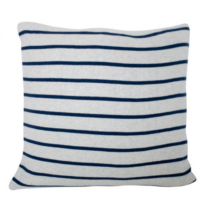 Knitted cotton cushion cover Herman