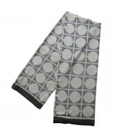 Pletená bavlněná deka Don grey šedá 130x170