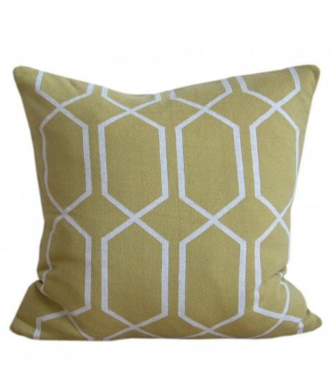 Dekorační polštář Irma olive yellow