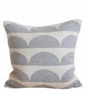 Pletený polštář Kamelia grey