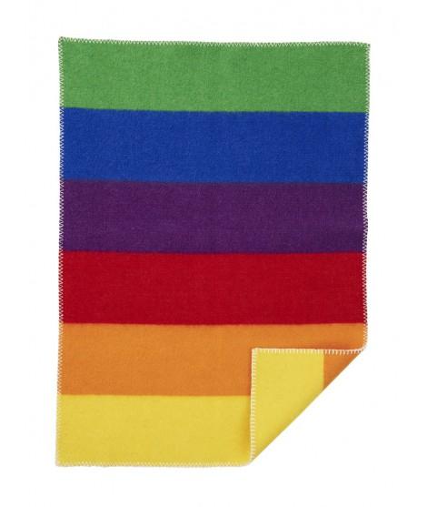 Woolen baby blanket Rainbow