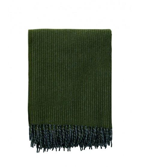 Vlněný pléd Shimmer green