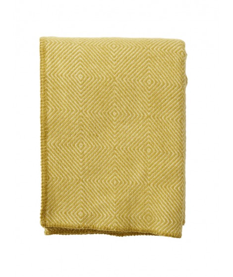 Vlněný pléd Nova yellow