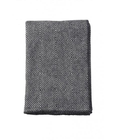 Wool throw Nova stone grey