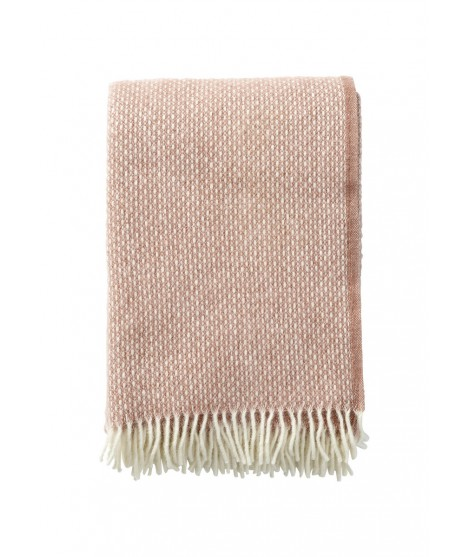 Wool throw Freckles nude