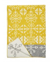 Wool blanket Traidition yellow