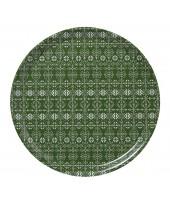 Kulatý servírovací tác Tradition green d38