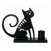 Candle holder Sitting Cat