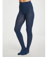 Bambusové punčochače Elgin petrol blue
