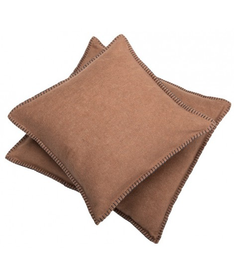 Cotton cushion SYLT chocolate