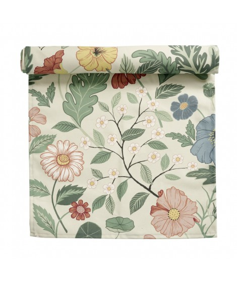 Table runner Bloom creme