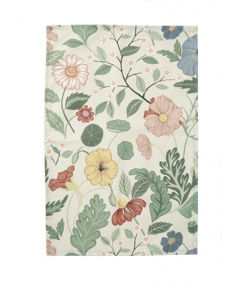 Kitchen towel Bloom creme