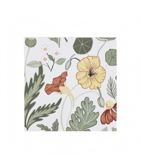 Paper napkins Bloom creme