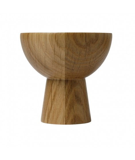 Wooden candle holder Plateau oak