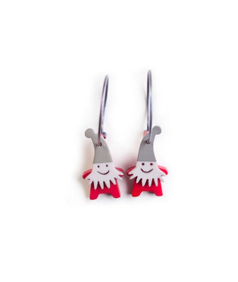 Earrings Santa 7B