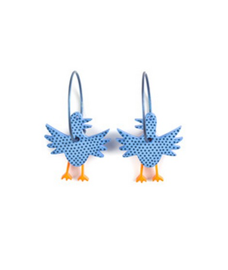 Earrings Bird 57C
