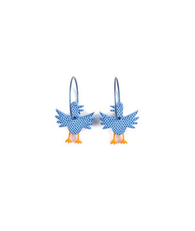 Náušnice Ptáček 57C