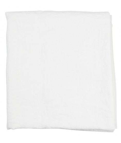 Linen napkins Linn white 2-set