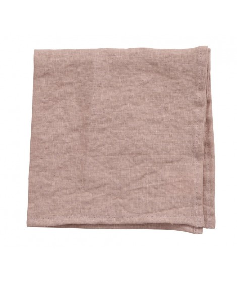 Linen napkins Linn rose 2-set