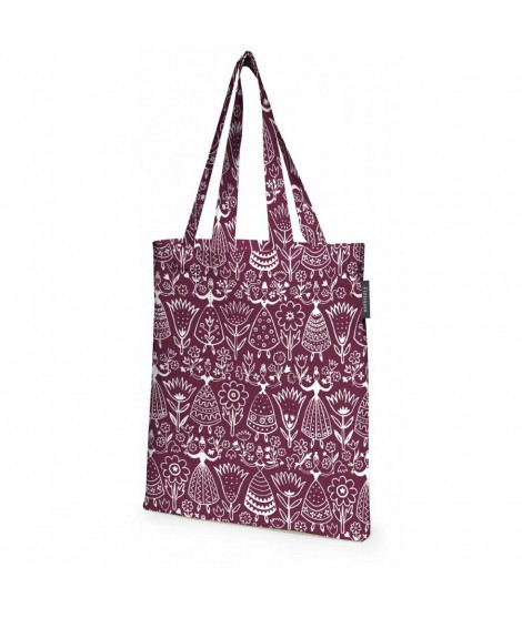 Cotton shopping bag Neidot burgundy