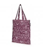 Bavlněná nákupní taška Neidot burgundy