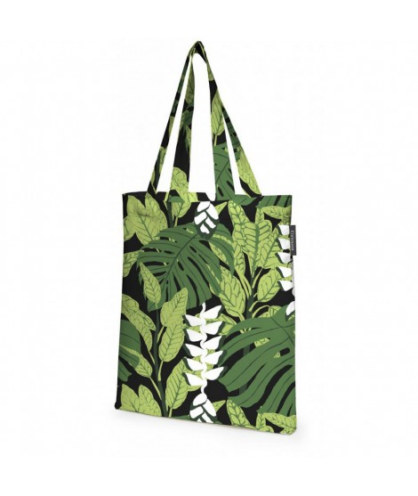 Cotton shopping bag Bunaken green