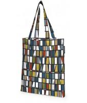 Bavlněná nákupní taška Coronna petrol orange