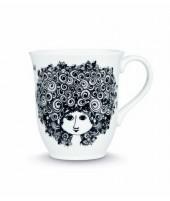 Porcelánový hrnek Rosalinde black 350ml