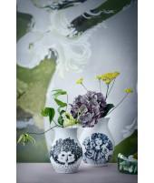 Porcelánová váza Felicia black H18 1
