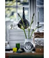 Porcelánová váza Felicia black H18 2