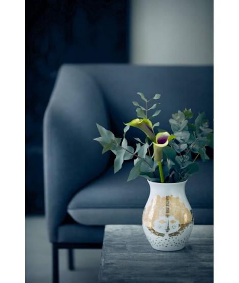 Porcelánová váza Felicia gold H18