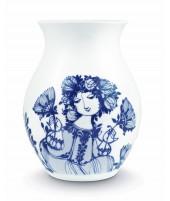Porcelánová váza Amelia blue H21