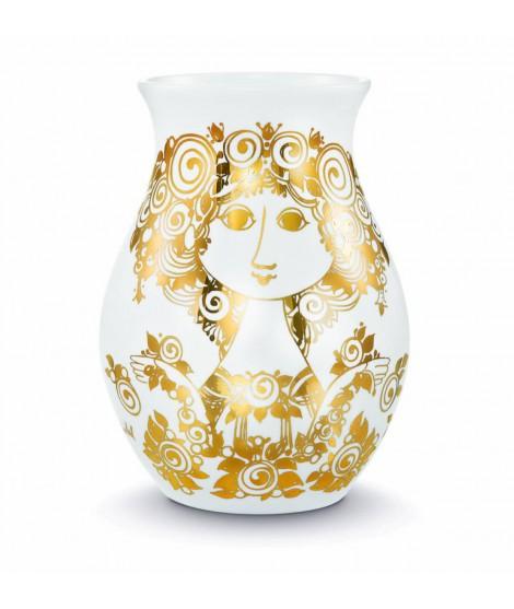 Porcelain vase Rosalinde gold H26