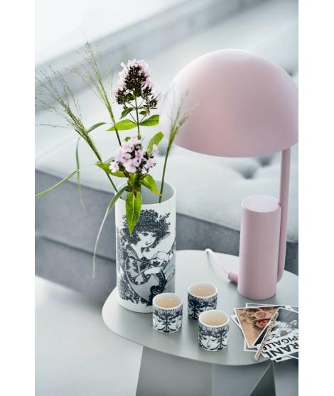 Porcelain vase Olympia grey H24