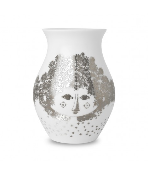 Porcelánová váza Felicia silver H18