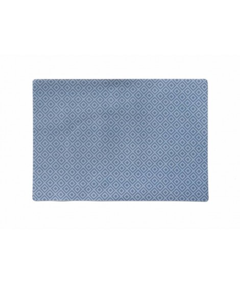 Table mat Aristo dusty blue 43x30