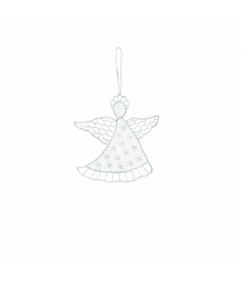 Ornament Noel Angel white 10cm