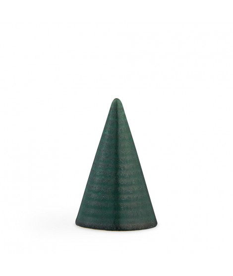 Glazed cone GG85 H11 dark green