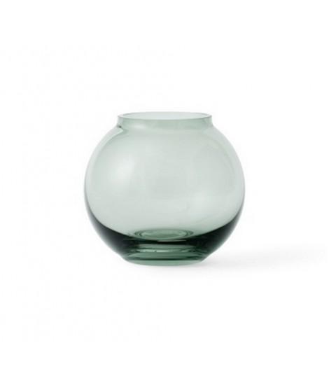 Skleněná foukaná váza Lingby 702 green H10