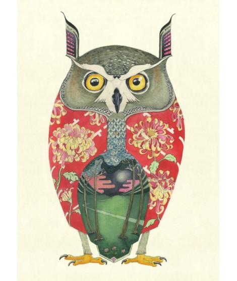 Reprodukce The DM Long eared Owl