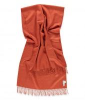 Vlněná šála Lilly deep orange 60x200 2