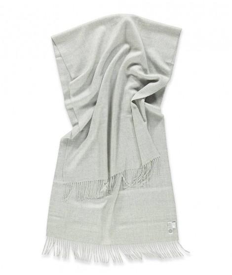 Vlněná šála Lilly silver grey 60x200 2