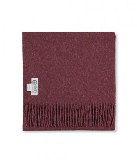 Woolen scarf Lilly tawny 60X200