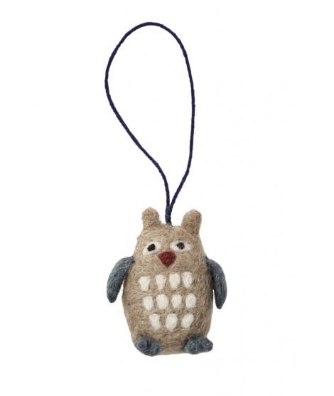 Vánoční dekorace Owl ( sova)