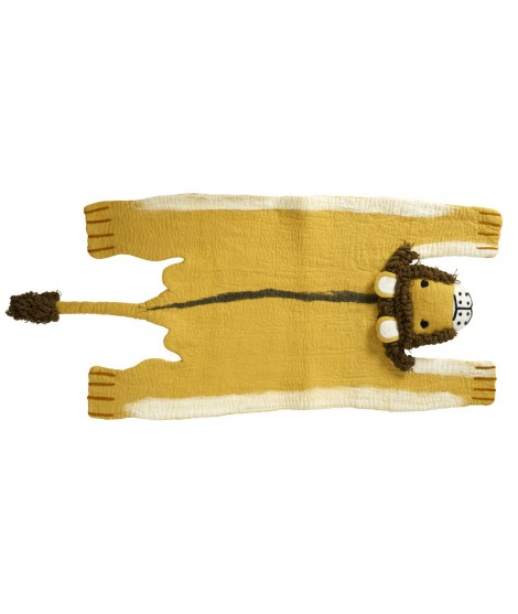 Kids woolen carpet Lion