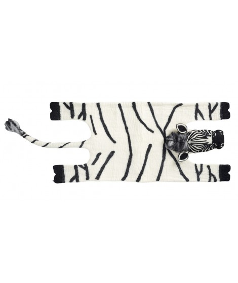 Kids woolen carpet Zebra
