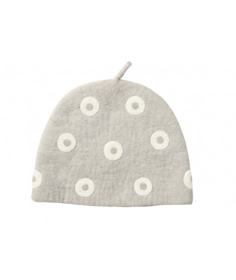 Felted teapot cover Tea Cosy Grey